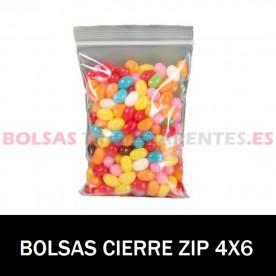BOLSAS TRANSPARENTES CON AUTOCIERRE 7X10