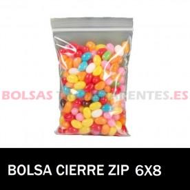 BOLSAS TRANSPARENTES CON AUTOCIERRE 8.5X18
