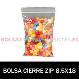 BOLSAS TRANSPARENTES CON AUTOCIERRE 11X11