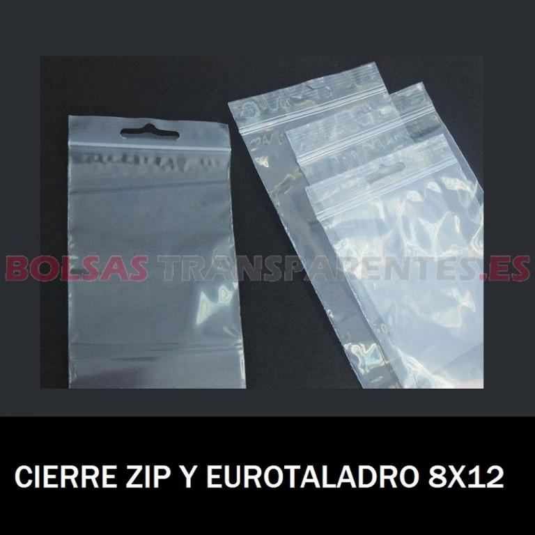 BOLSAS TRANSPARENTES CON CIERRE CURSOR 25X17