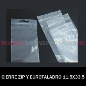 BOLSA CON AUTOCIERRE Y EUROTALADRO 11.5X33.5