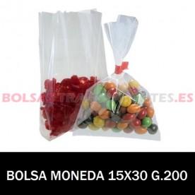 BOLSAS TRANSPARENTES 15X30...