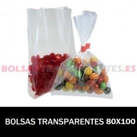 BOLSA POLIETILENO SIN CIERRE 80X100