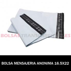 BOLSAS TRANSPARENTES SOLAPA ADHESIVA CPP 25X35