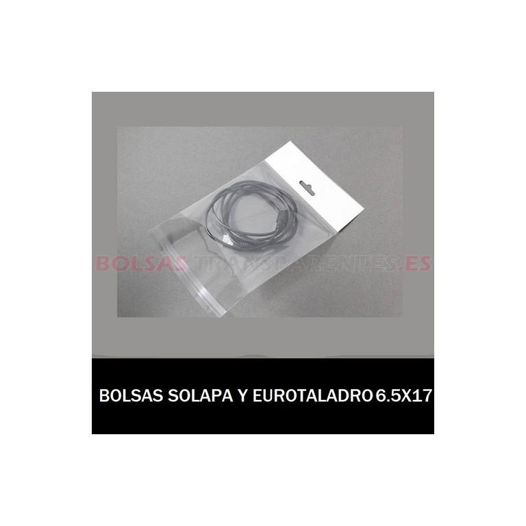 BOLSAS TRANSPARENTES POLIETILENO 15X30 (MONEDAS)