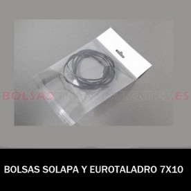BOLSAS TRANSPARENTES POLIETILENO 22X30