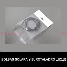 BOLSAS TRANSPARENTES POLIETILENO 35X50