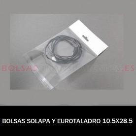 BOLSAS TRANSPARENTES POLIETILENO 40X60