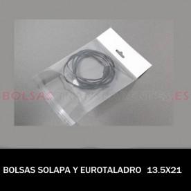 BOLSAS TRANSPARENTES POLIPROPILENO 5.5X30